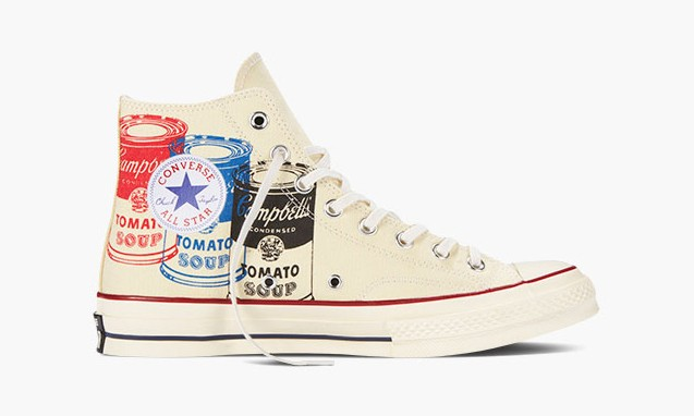 Andy Warhol x Converse Chuck Taylor All Star 合作系列