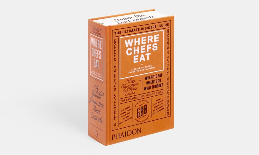 吃货地图年鉴,《Where Chefs Eat》2015 版开启预订