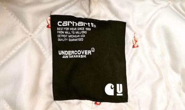 合作谍照露出,UNDERCOVER x carhartt 2015 秋冬联名疑似单品猜想