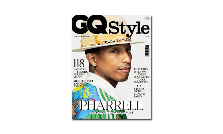 Pharrell Williams 登上《GQ》杂志德国版封面
