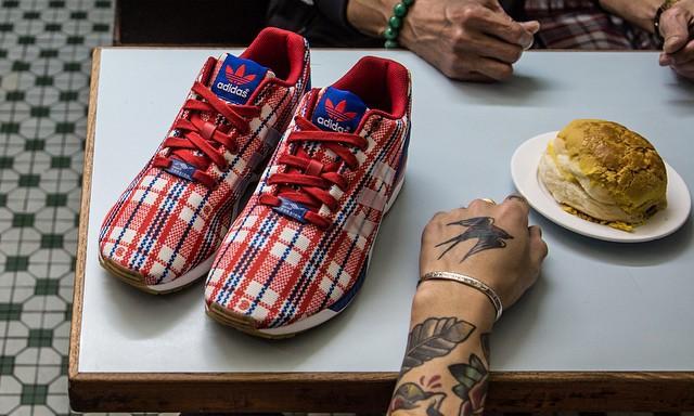 CLOT x adidas Consortium ZX Flux RWB 联名鞋款宣传视频