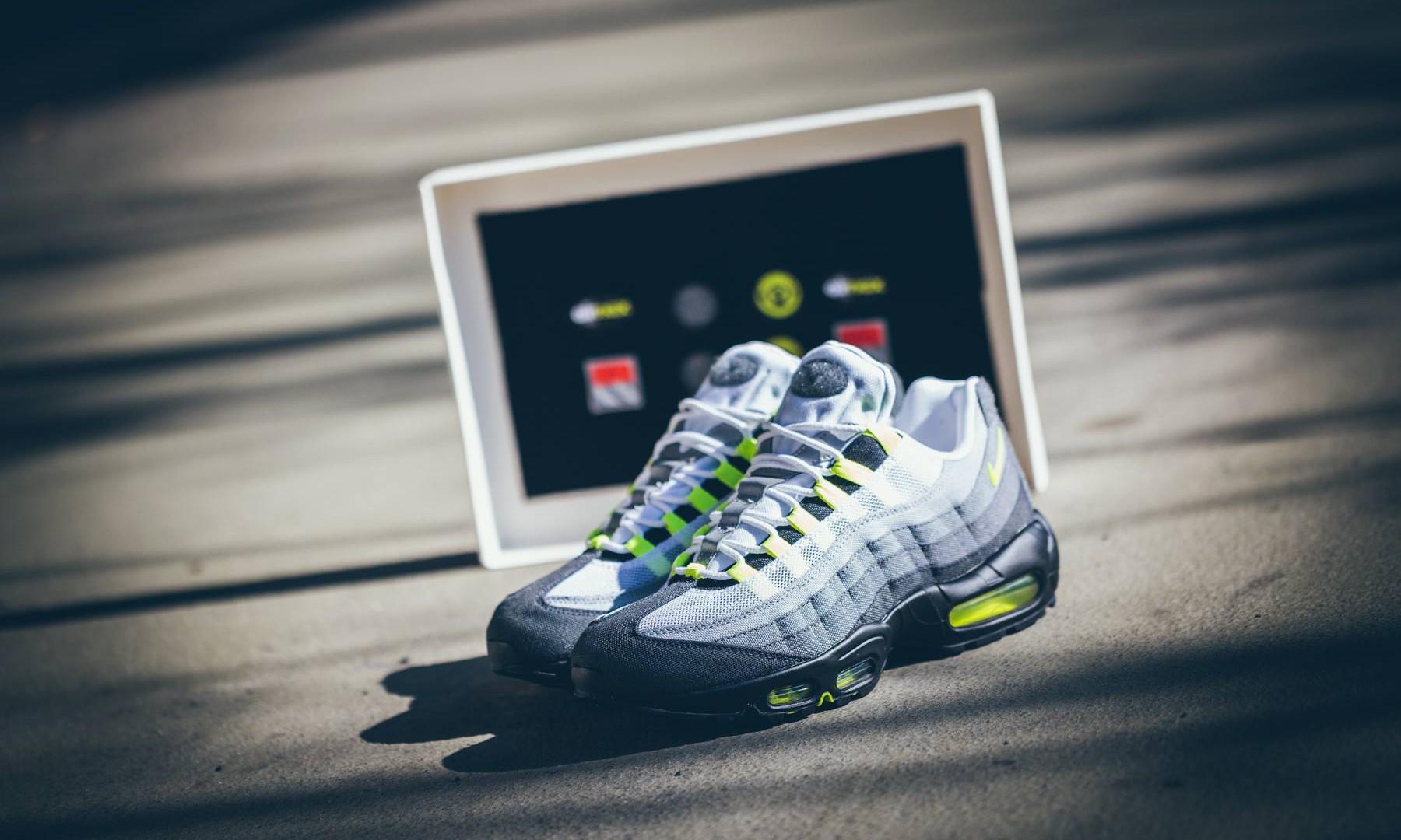 """经典再现,Nike Air Max 95 """"Neon"""" 大赏"""