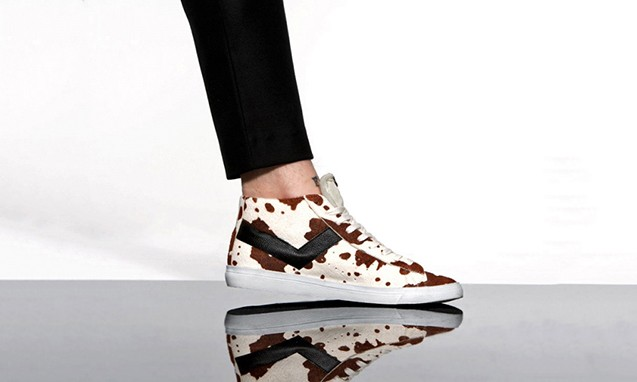 Mark McNairy x PONY 马皮材质联名鞋款