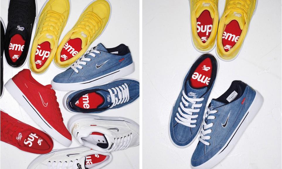 Supreme x Nike SB GTS 联名系列确认将于 5 月开始发售