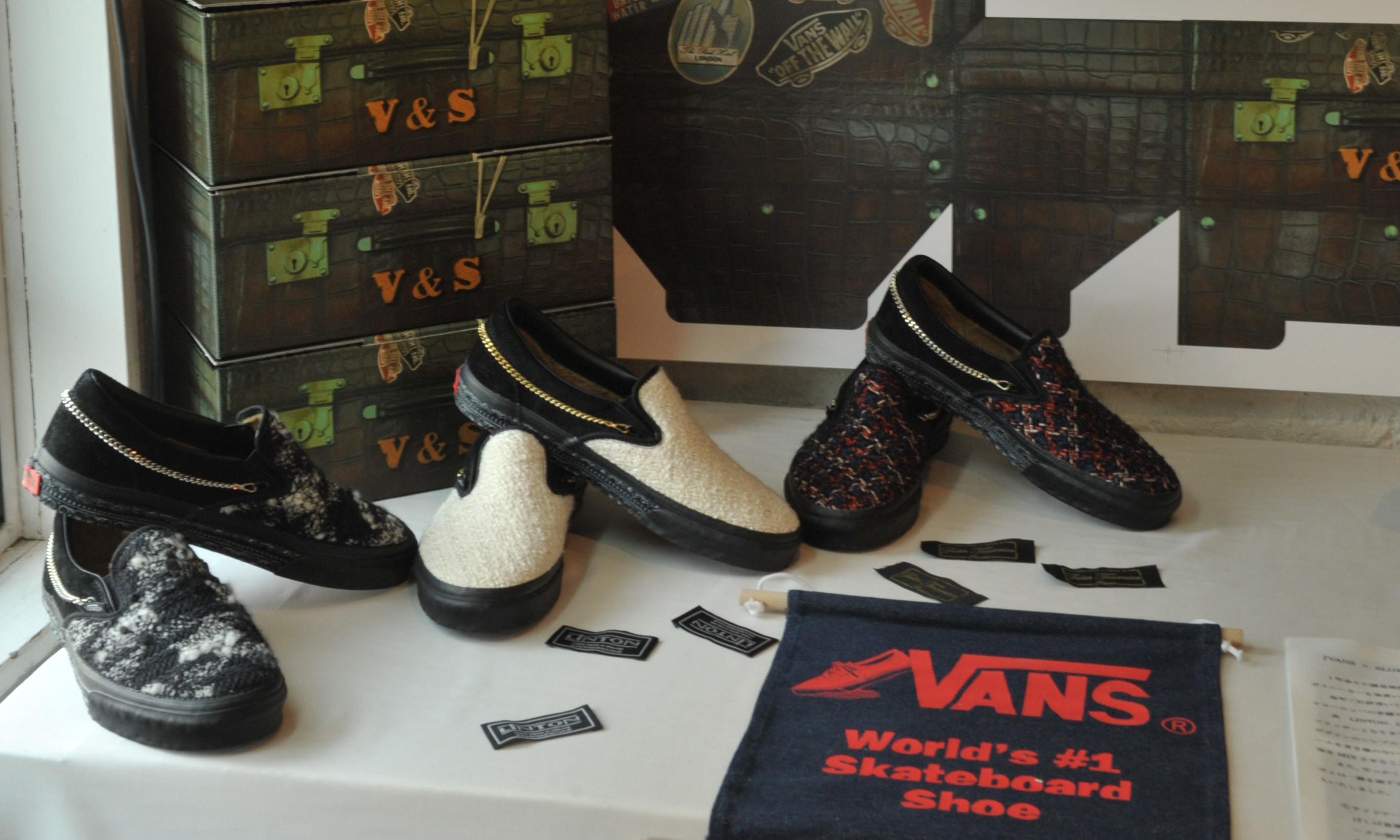 欧洲怀旧感,VANS X SLOWGUN 2015 秋冬联乘鞋款