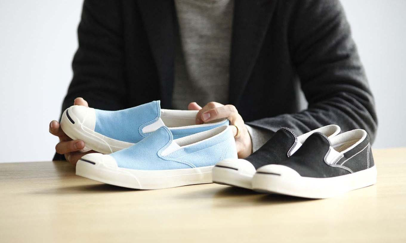 Converse x BEAMS 全新 Slip-On 版本 Jack Purcell