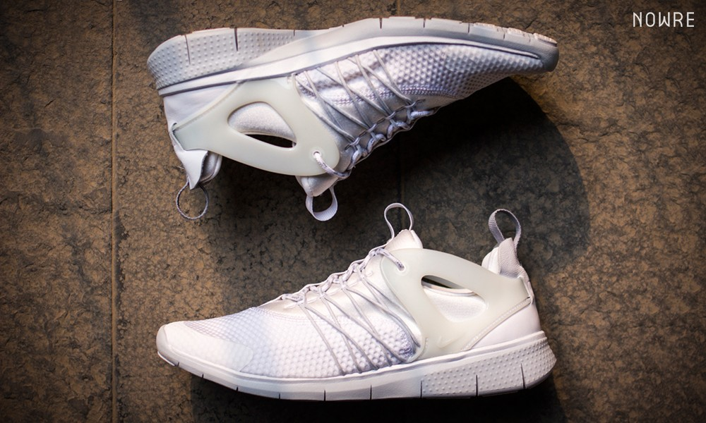 耀眼夏日白,Nike Free Viritous 细节大赏