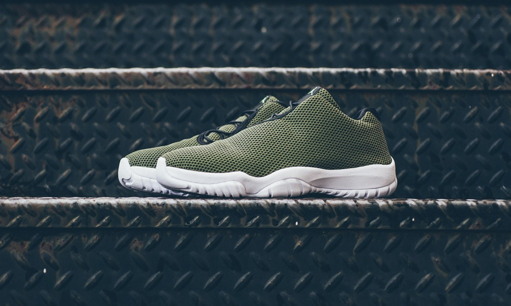 "Air Jordan Future Low 全新""FADED OLIVE""配色"