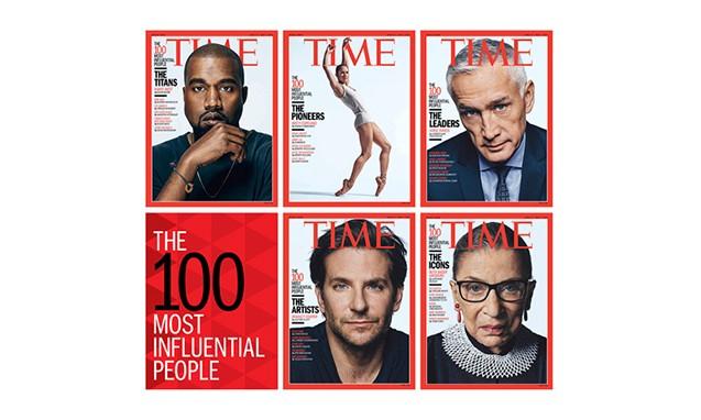时代周刊《TIME》2015「TIME 100」封面人物
