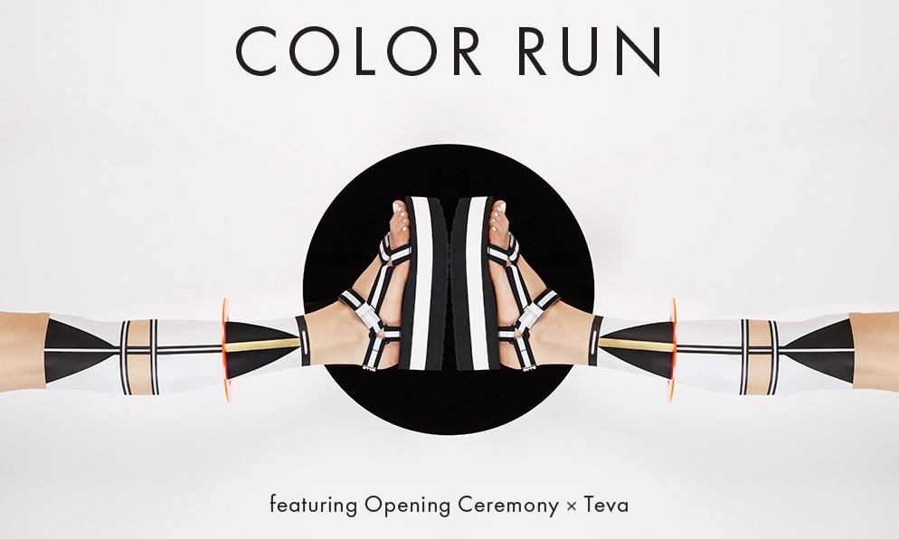 Opening Ceremony x TEVA Sandal 系列鞋款