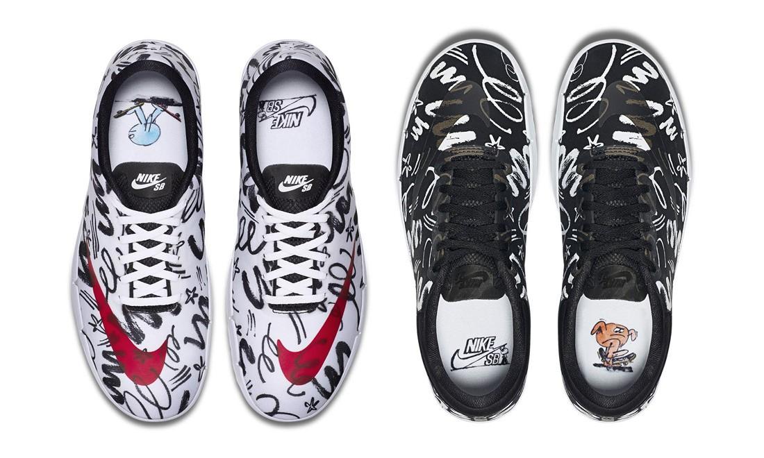 跃然涂鸦呈现,James Jarvis x Nike Free SB 联名系列释出