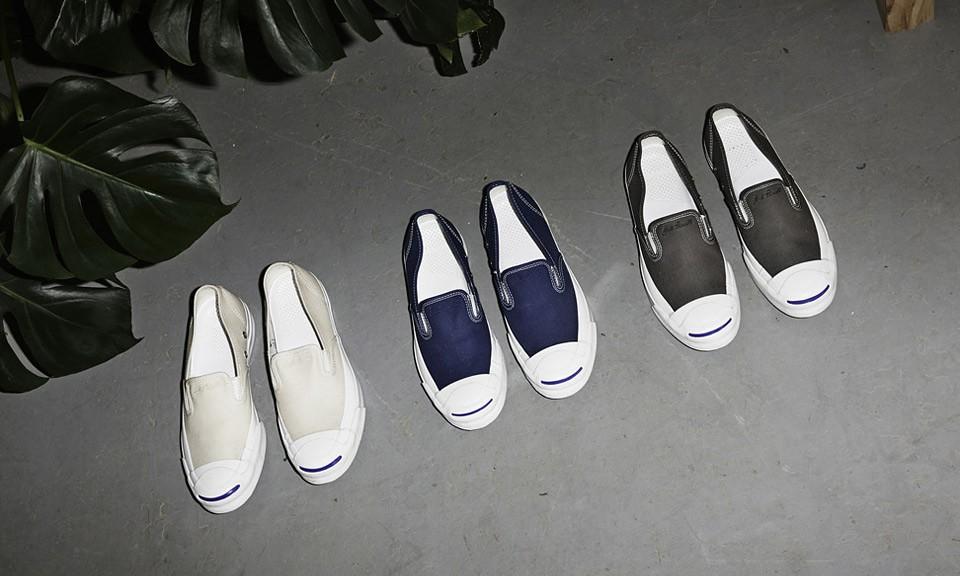夏日专属,Converse Jack Purcell Slip-On 鞋款释出