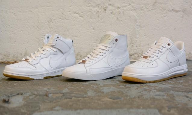 """Nike """"White Pack"""" QS 鞋款套装"""
