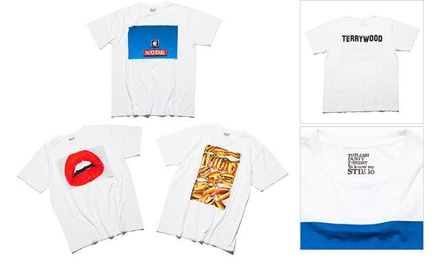BEAUTY & YOUTH 出品 Terry Richardson x Tsuyoshi Noguchi 限定 T 恤系列