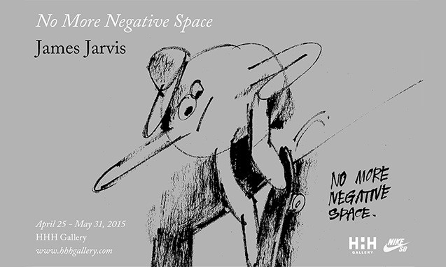 """HHH Gallery 举办 Nike SB x James Jarvis """"No More Negative Space"""" 展览"""