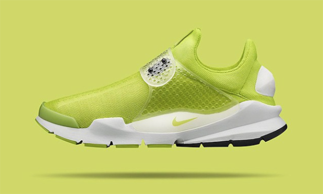 Nike 公布 Sock Dart SP Volt 荧光黄配色