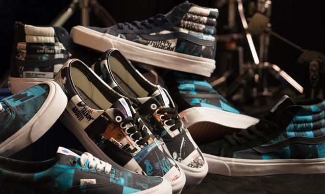 DQM x Vans x Blue Note Records 三方联名鞋款系列