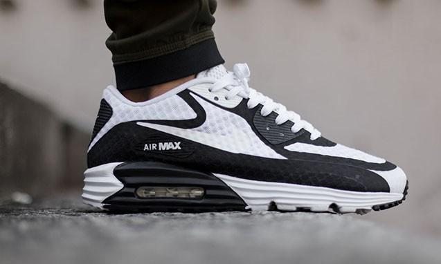 """Nike Air Max Lunar90 Breeze """"Black & White"""" 鞋款"""