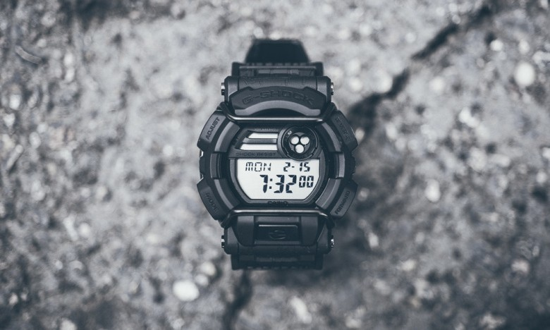 HUF x G-Shock GD400HUF-1「Cracked Concrete」联名腕表