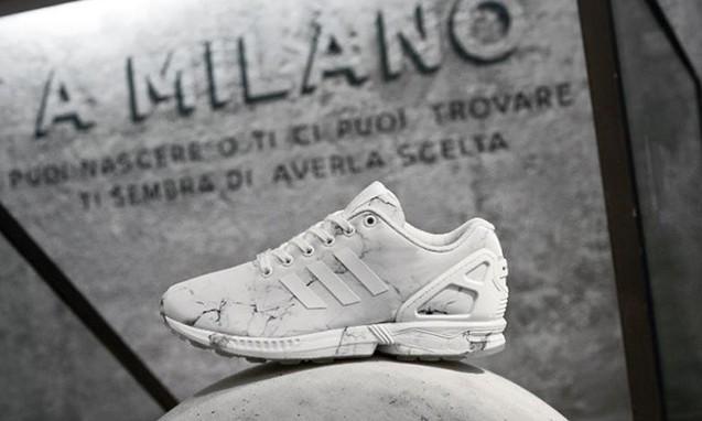 "adidas Originals ZX Flux ""Milano"" 独占鞋款"