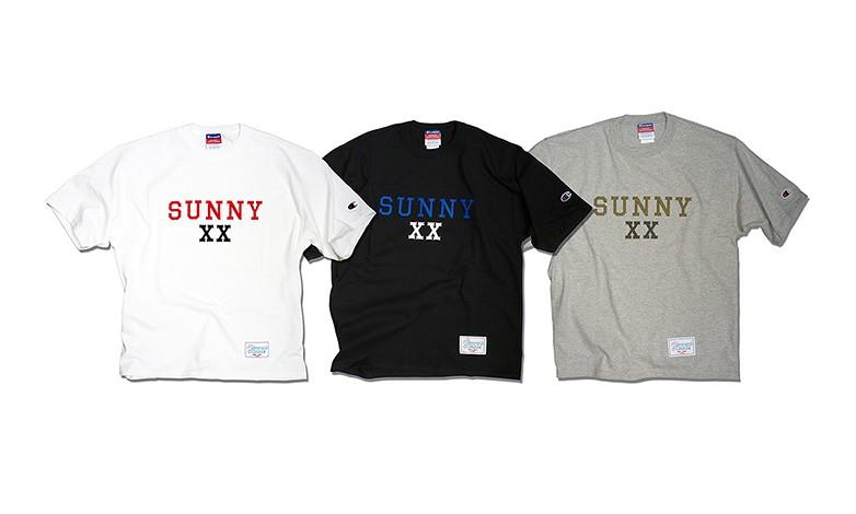 夏日阳光之选,Sunny C Sider × XX 联名 T恤释出