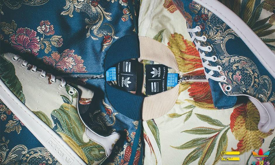 刺绣元素体现,Pharrell Williams x adidas Originals 最新联名企划曝光