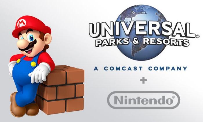 任天堂宣布计划将在「Universal Parks & Resorts」开设主题游乐设施