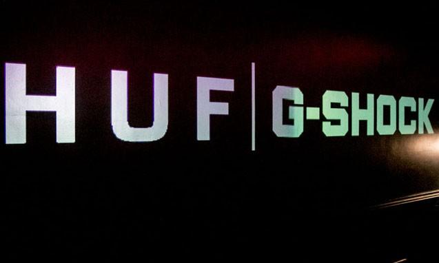 "HUF x G-Shock GD400HUF-1 "" Cracked Concrete "" 发布派对现场回顾"