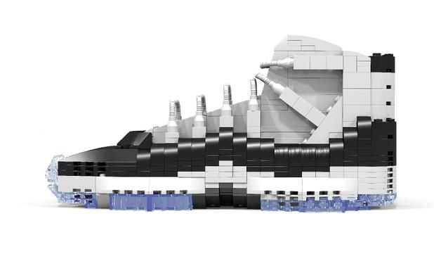 """玩家打造 LEGO 版 Air Jordan XI """"Concord"""""""