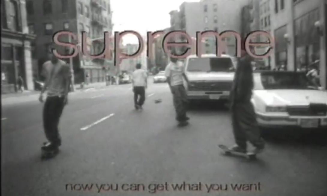 Supreme 1996 年街滑黑白影片流出