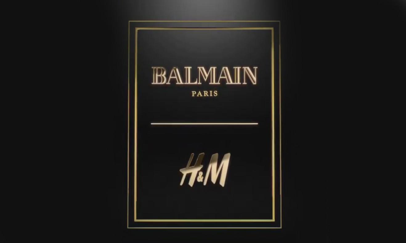 10 年经典再度启程!H&M 宣布将携手 Balmain 为 2015 秋冬带来全新重磅合作