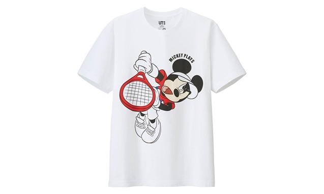 "Disney x UNIQLO ""Mickey Plays"" T 恤系列"