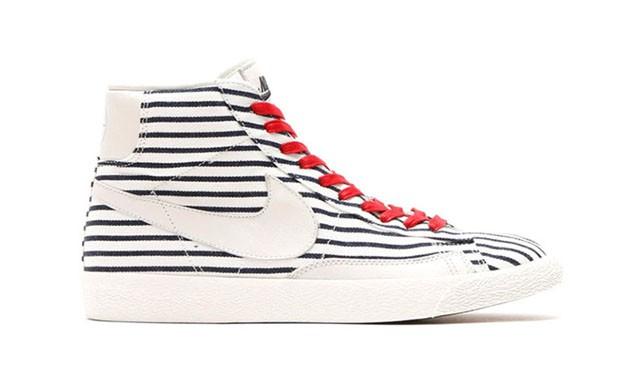 """迎接法网揭幕,Nike Blazer Mid PRM VNTG QS """" French Open """" 鞋款"""