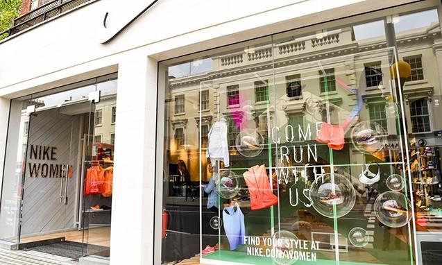 Nike 于伦敦开设欧洲首家女性专门店