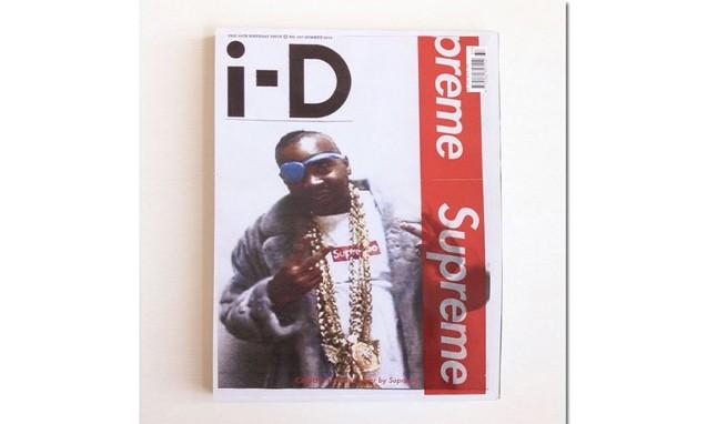 《 i-D 》 杂志 35 周年纪念之 Supreme 主题封面