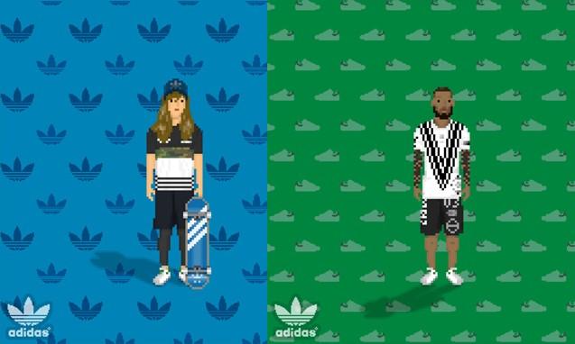 adidas Originals x SUPER COOL STYLE 特别合作 APP 互动游戏