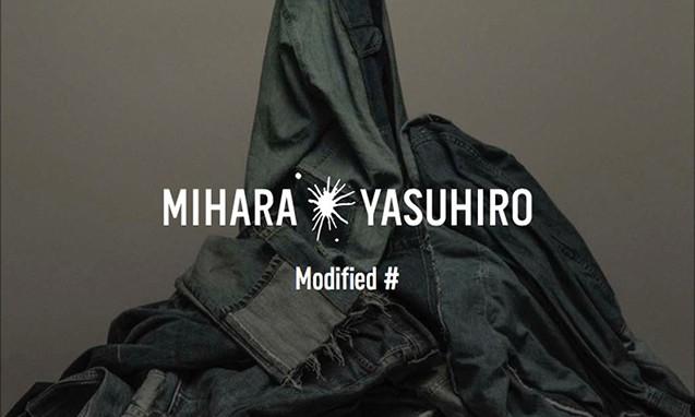 "MIHARAYASUHIRO 三原康裕推出全新支线 ""Modified"""
