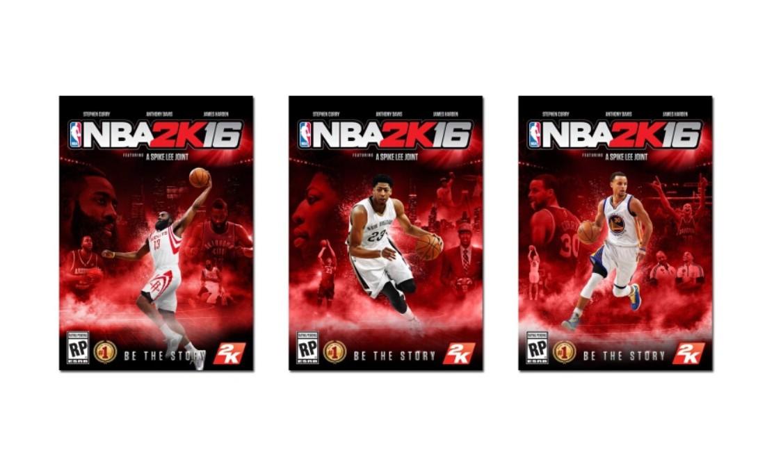 NBA 2K16 封面曝光,Spike Lee 指导预告短片