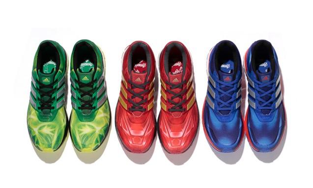 "adidas 发布 "" Avengers "" 主题设计 Boost 跑鞋系列"