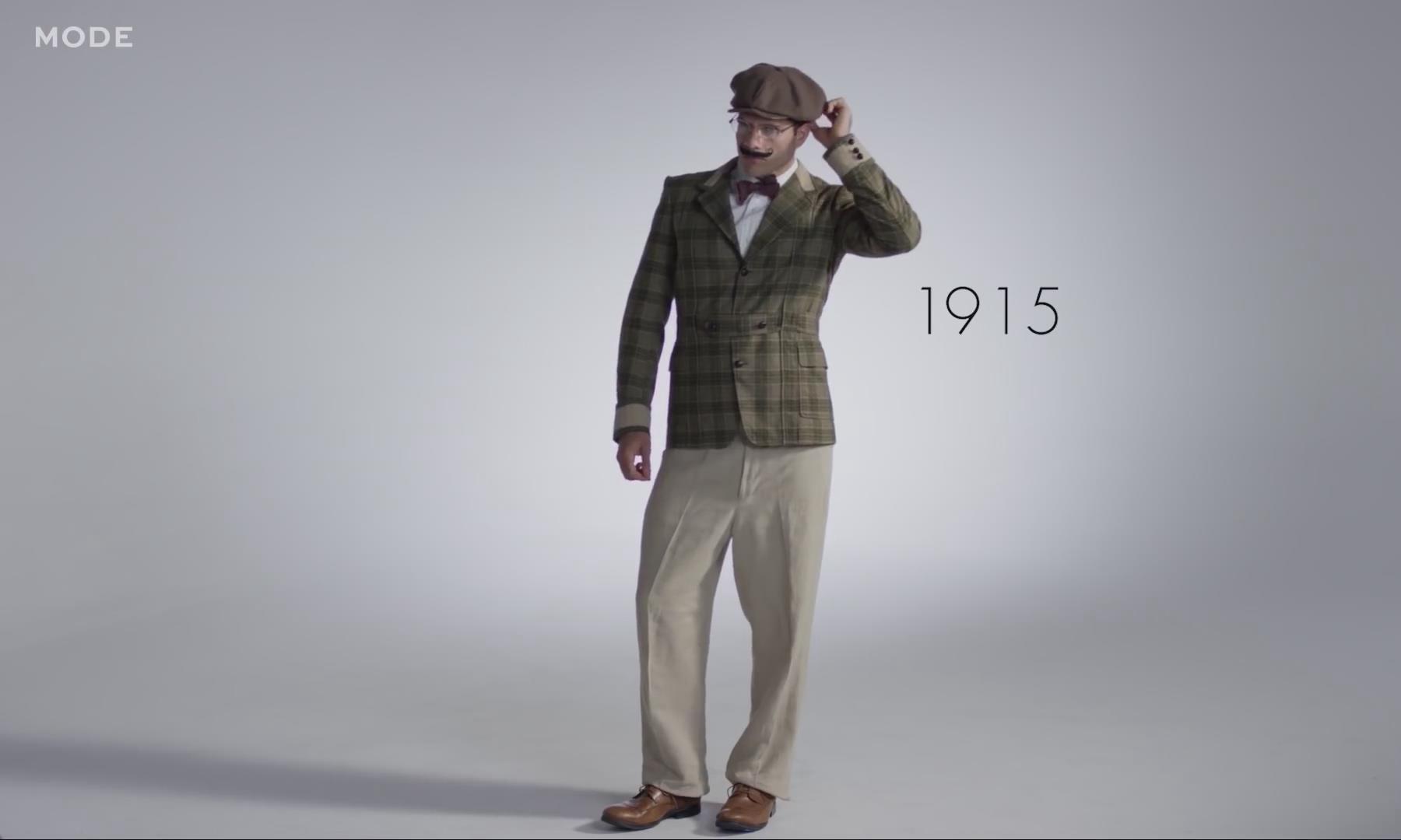 3 分钟带你浏览百年男士时尚变革