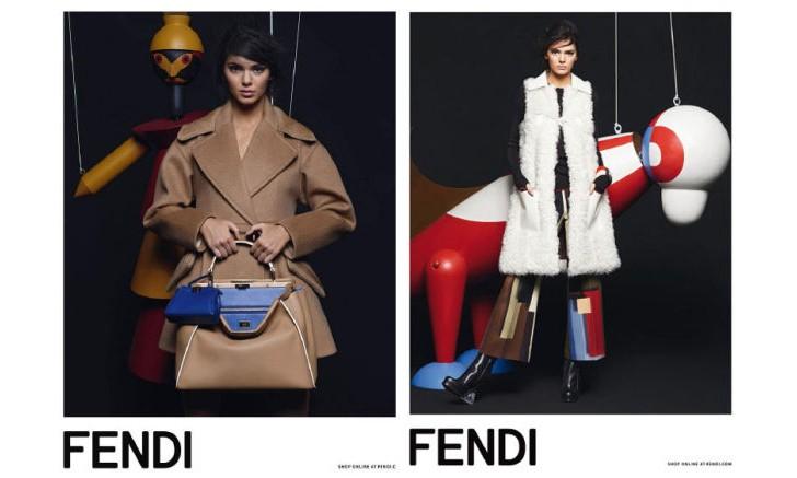 老佛爷钦点,Kendall Jenner 成为 FENDI 2015 秋季系列代言人