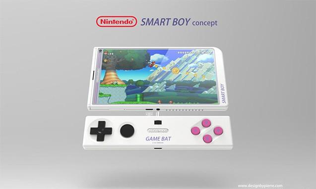 如果是真的谁还要肾..机?Nintendo SMART BOY 智能概念电话