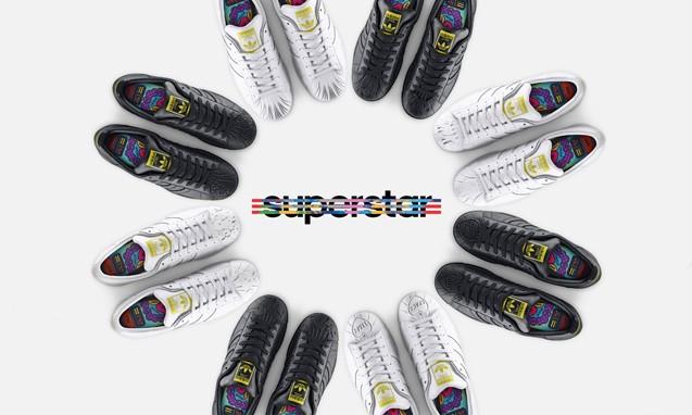 "adidas Originals = Pharrell Williams SUPERSHELL "" Sculpted "" 雕塑贝壳头系列鞋款"