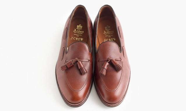 J.Crew x Alden Tassel Loafer 合作鞋款