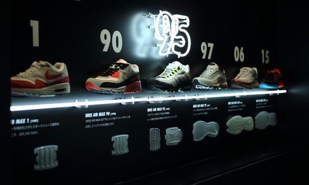 走进 Nike Air Max 95「Studio95」视觉空间