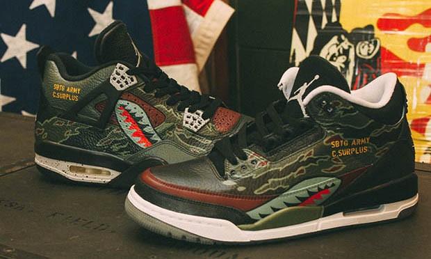标识性元素彰显,球鞋客制大师 SBTG 释出 3 款新作