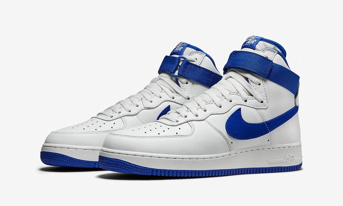 """皇家蓝加持,Nike Air Force 1 High Retro QS """"Game Royal"""" 即将发售"""