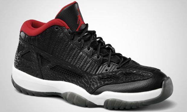 看仔细了!要发售的 Air Jordan XI IE Low 和图中的还是有区别的