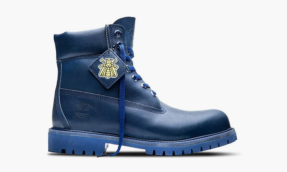 "Bee Line for Billionaire Boys Club x Timberland ""Blue"" 6吋靴"
