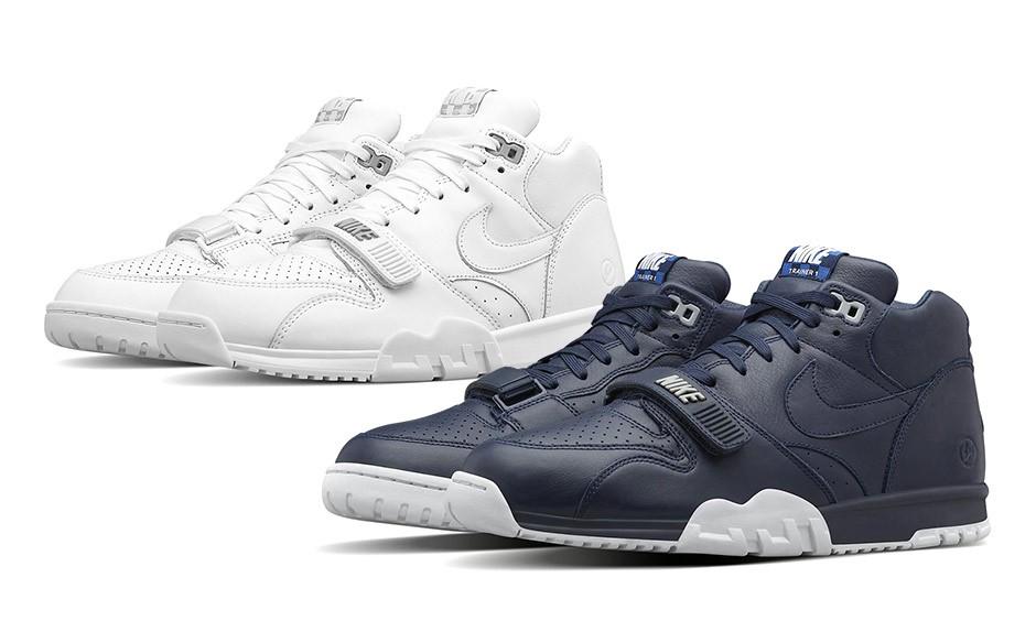 """fragment design x NikeLab Air Trainer 1 SP """"US Open"""" 系列发售日期公布"""